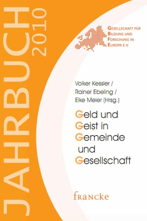 gelbes Buchcover Jahrbuch 2010