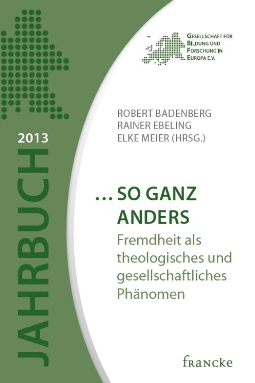grünes Buchcover Jahrbuch 2013