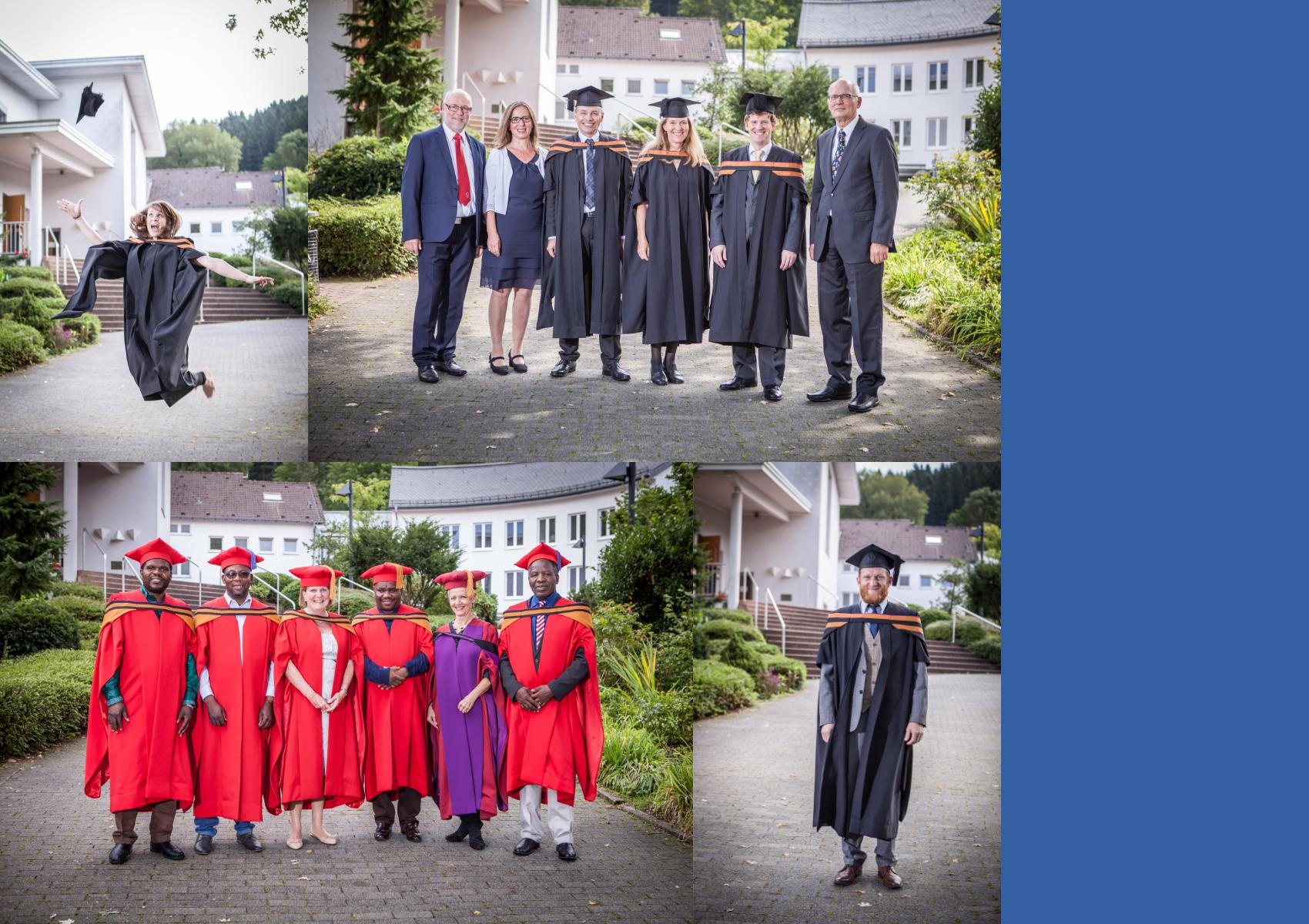GBFE Absolventen während der Abschlussfeier